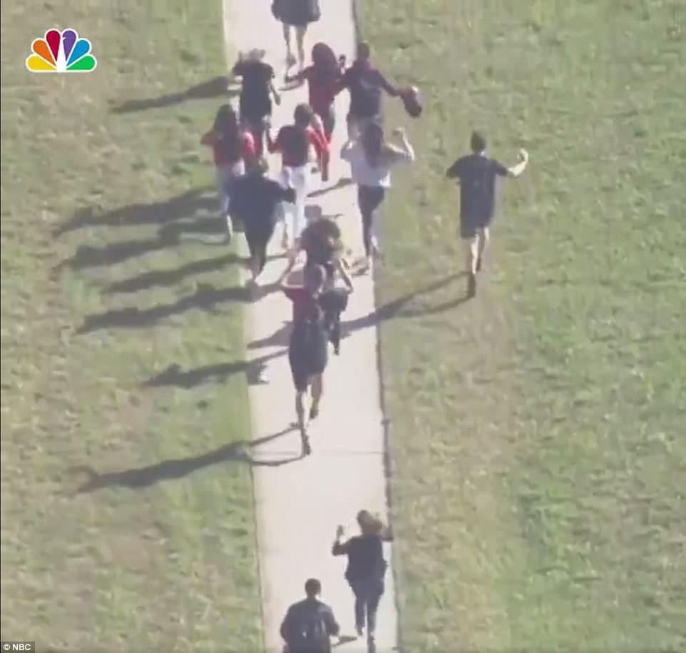 Parkland Florida School Shooting 'Leaves At Least 17 Dead