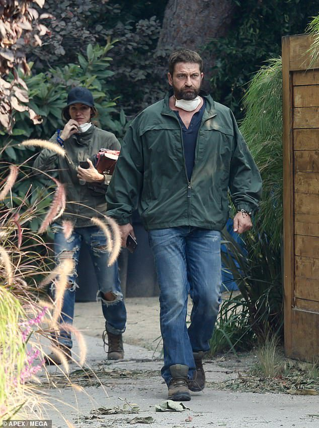 Gerard Butler Returns To Malibu Home To Find It Destroyed