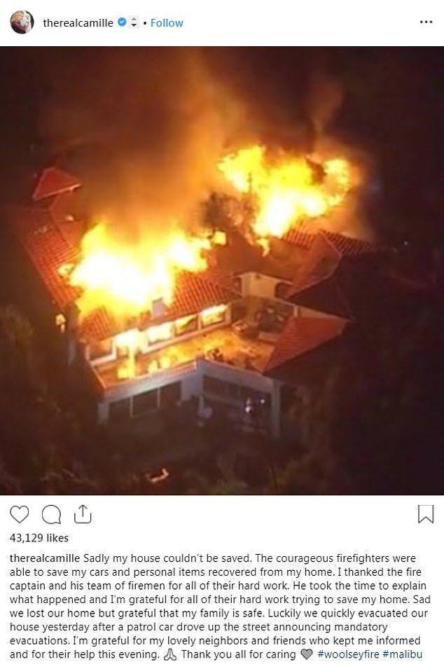 Gerard Butler Returns To Malibu Home To Find It Destroyed
