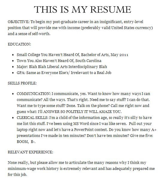 20 hilarious resume fails  i u0026 39 m guessing they did not get