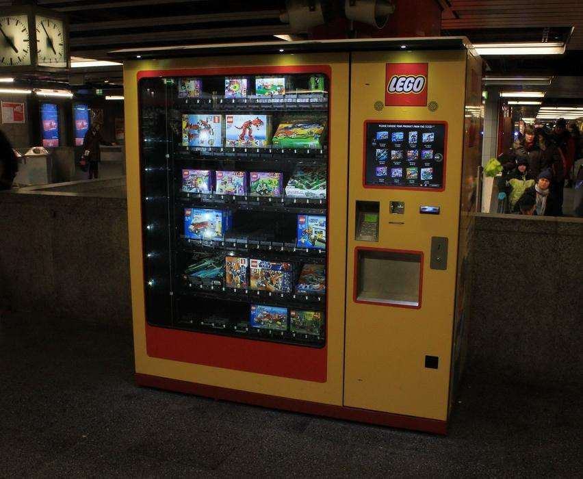 36 Vending Machines With Contents Like You've Never Seen