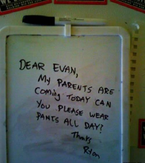 15 Funny Notes People Left For Their Friends And Family-1540