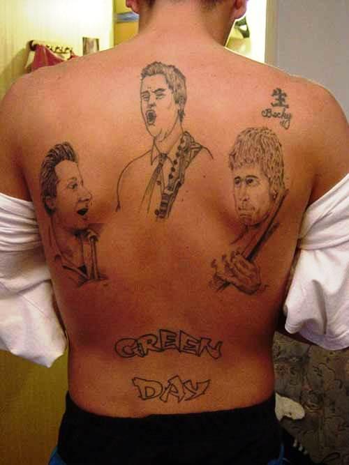 Bad Tattoos Green Day Newslinq