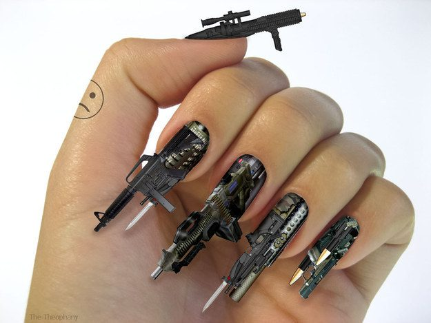 These high-powered weapons