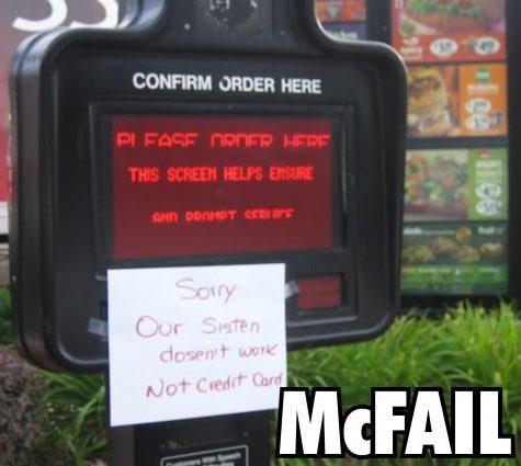 50 Awkward McDonald's ...