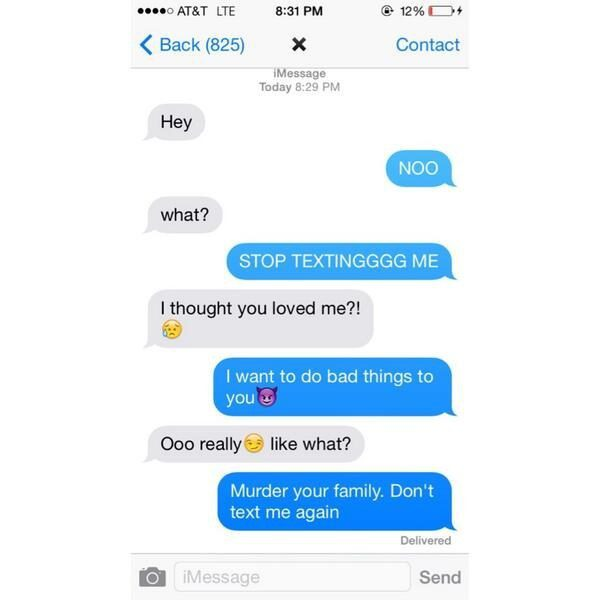 Funny Text Responses to The Ex Who Just Wont Go Away