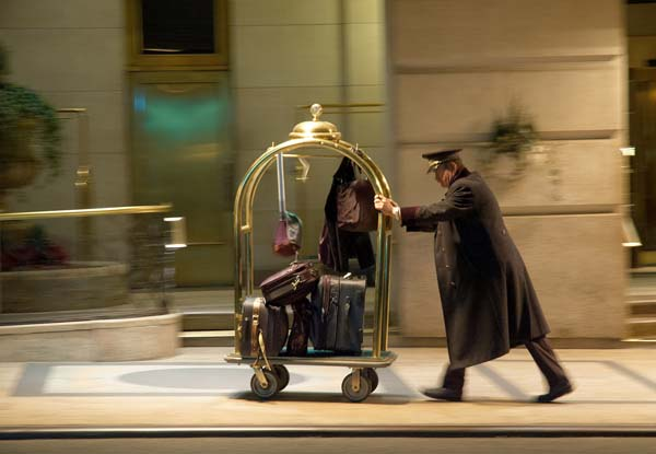 "17.) A photon checks into a hotel and the bellhop asks him if he has any luggage…. The photon replies, ""No, I'm traveling light."""