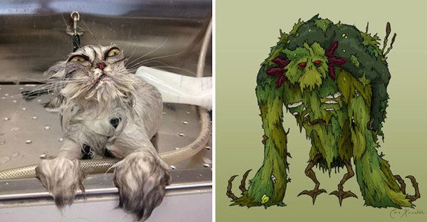 12. Swamp Monster
