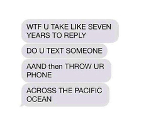 How to respond to hey text message