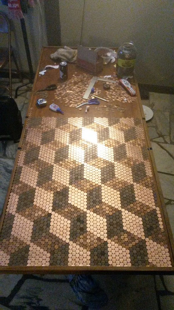 This Guy Gathered 5 000 Pennies And What He Did With Them