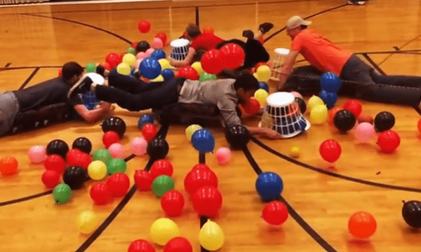 "The Human Version of ""Hungry Hungry Hippos"" Is Finally Here"