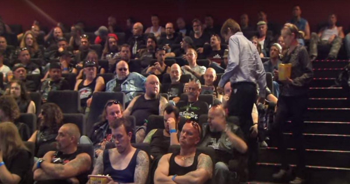 ผลการค้นหารูปภาพสำหรับ carlsberg stunts with bikers in cinema