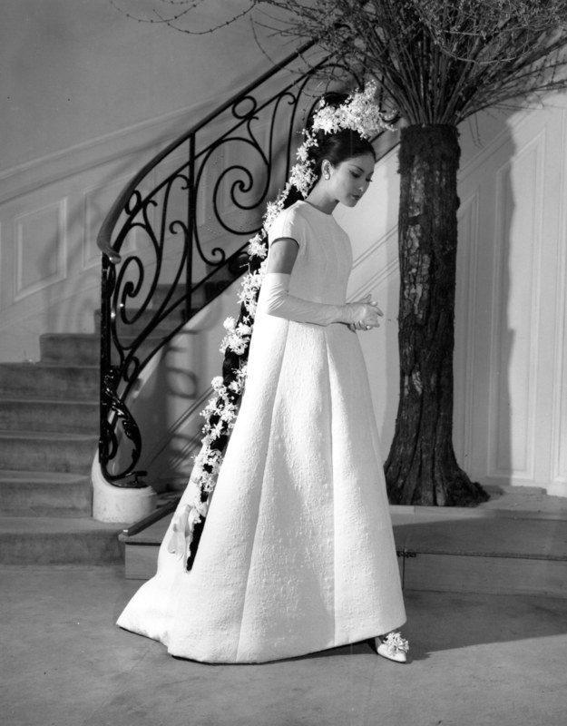 Vintage Wedding Dress Pinteresta Gown From French Designer Yves Saint Lau S