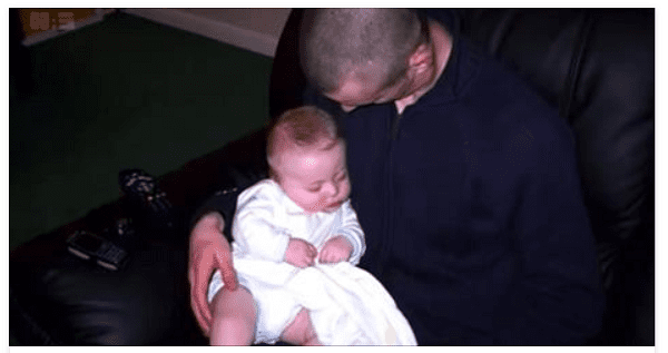 A Father Notices Something Unusual About His Baby Then