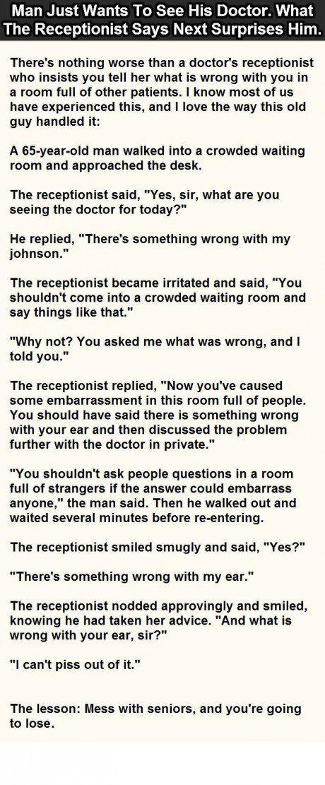 ear joke