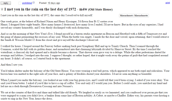 This Older Man Posts A Craigslist Ad Trying To Find A Woman