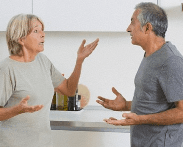 husband getting on wife's nerves