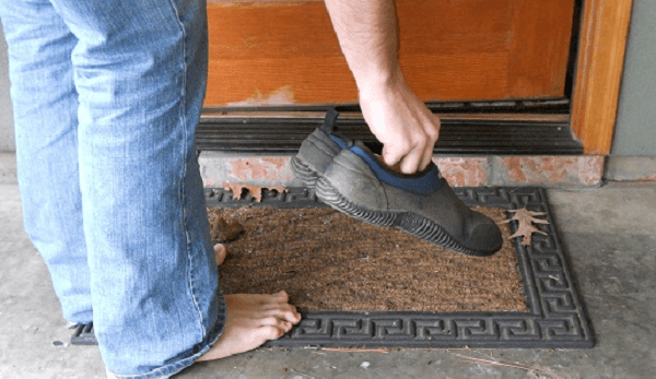Never Wear Shoes Inside The House