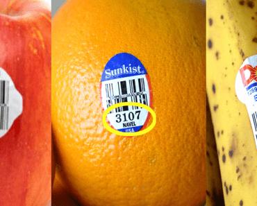 Fruit & Vegetable PLU Codes