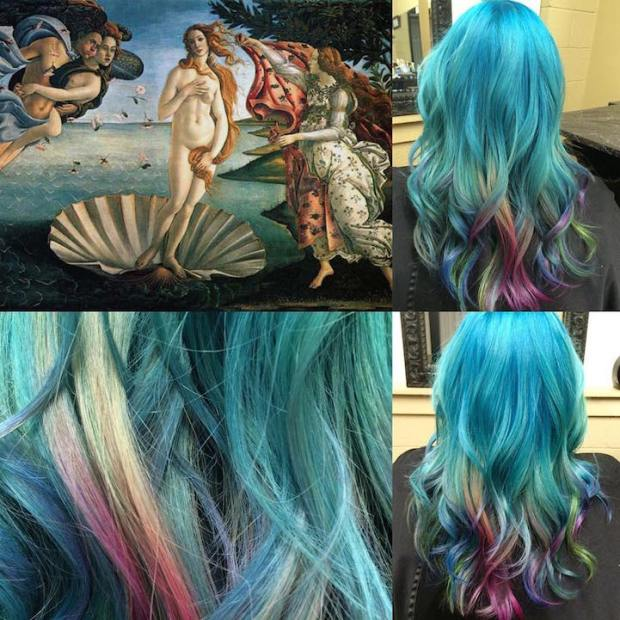 Hair Colors Inspired By Famous Artworks 4