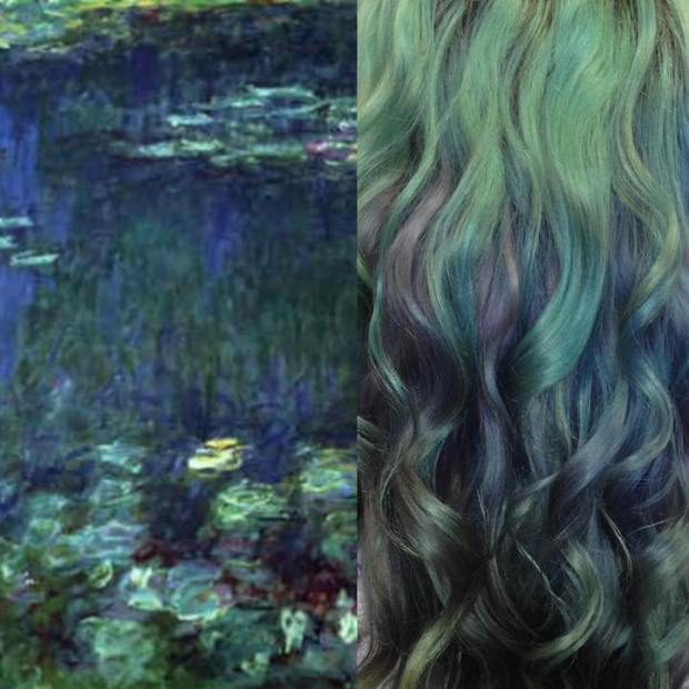 Hair Colors Inspired By Famous Artworks 6
