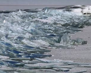 Lake Superior Ice Stacking