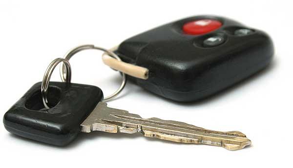 Найдены ключи от машины рязань