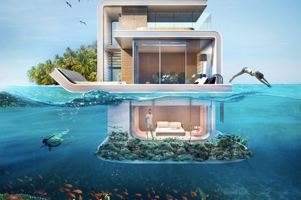 floating apartments in Dubai 1