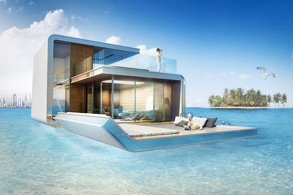 floating apartments in Dubai 2