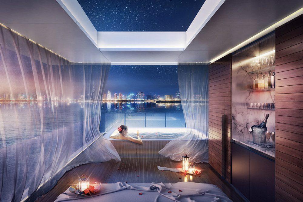 floating apartments in Dubai 4