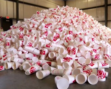 plastic cups recycling