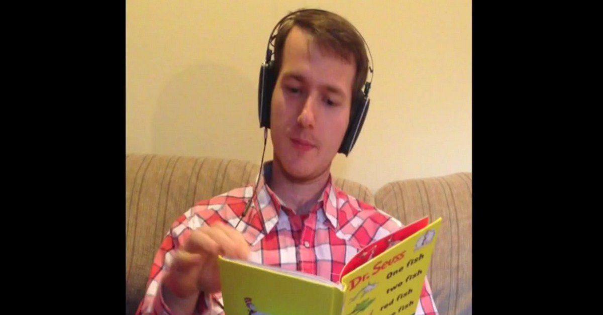 Speech jammer for headphones - jammer fun video for senior