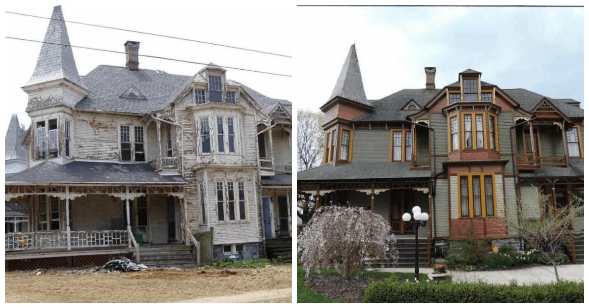 1887 Queen Anne Style House Is Restored To Its Once