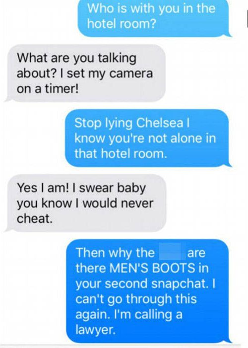 20 Funny Caught Cheating Texts That Are Seriously Awkward