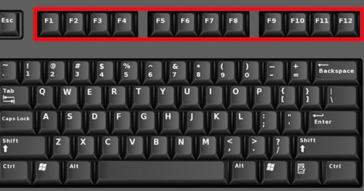 Unknown Uses Of Function Keys On Your Keyboard To Save You Tons Of Time