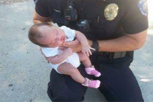 choking baby trick