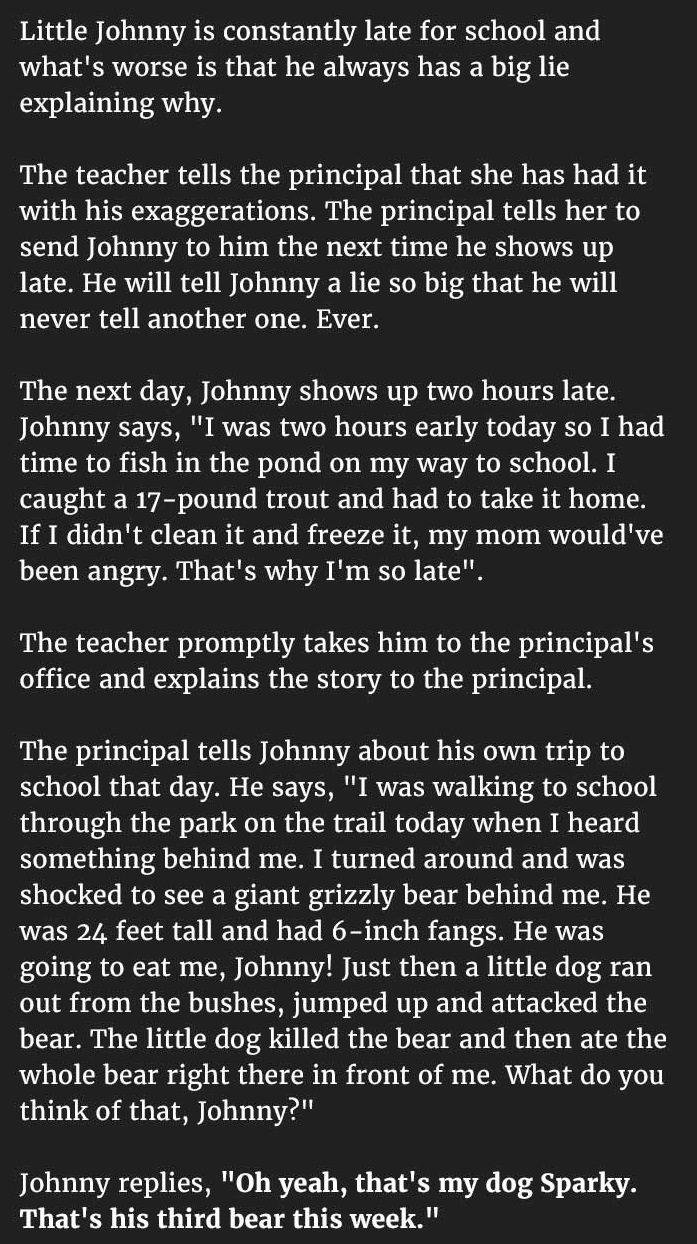 student excuses