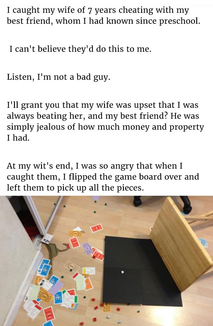Wife cheats with best friend