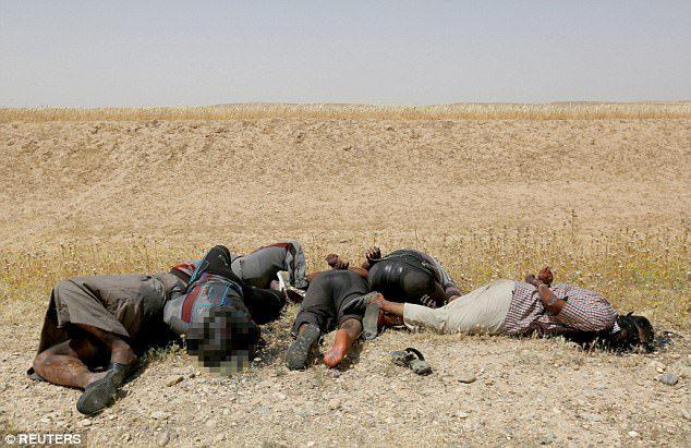 dead suspected isis mosul