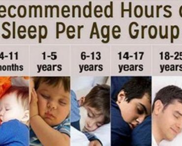 recommended sleep hours